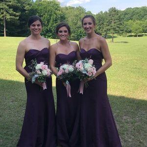 Purple Oleg Cassini formal gown